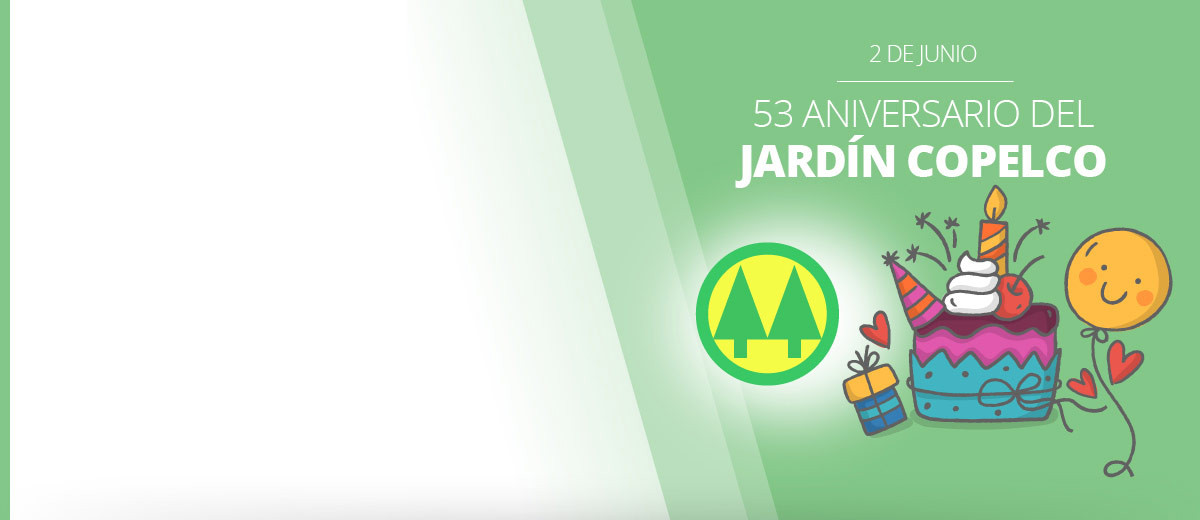¡FELIZ CUMPLE JARDÍN COPELCO!