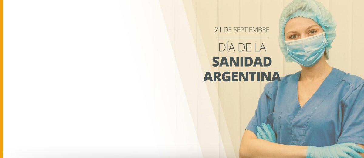 DIA DE LA SANIDAD ARGENTINA