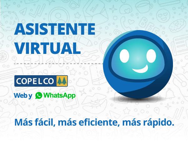 Nuevo asistente virtual COPELCO