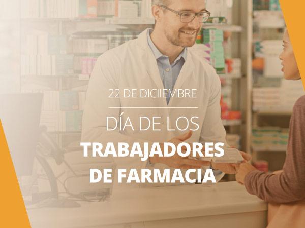 Feliz día de los trabajadores de farmacia
